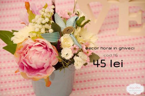 decor floral vintage