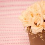 ghiveci cu trandafiri pali