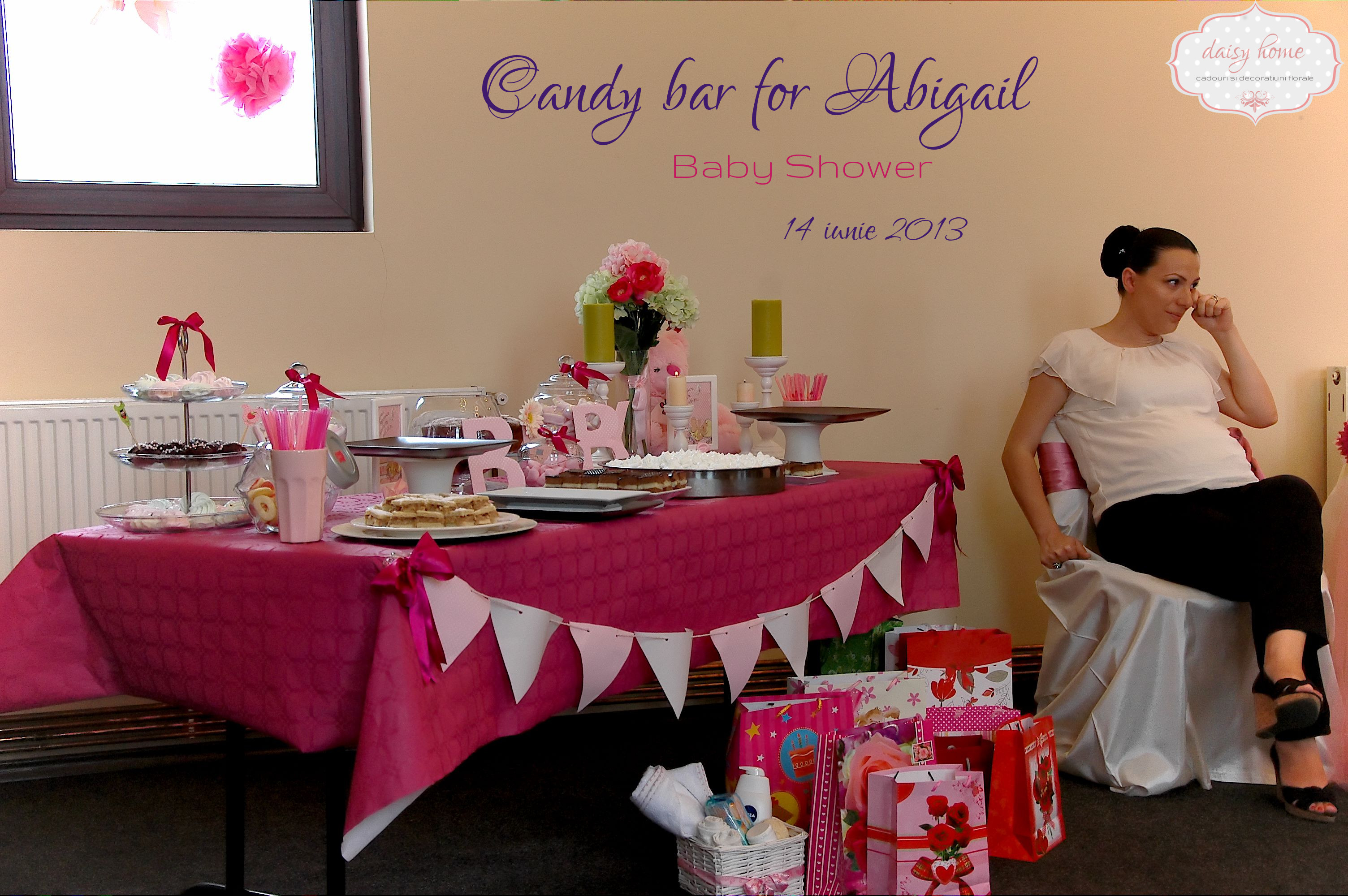 Candy bar for Abigail